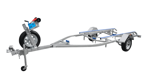 4 metre boat trailer  skid type